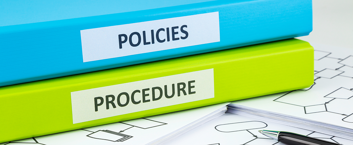 provide a guideline for policy review in childcare